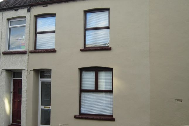 Thumbnail Terraced house for sale in Heolddu Road, Bargoed