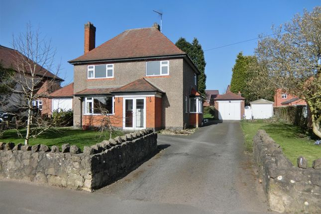 Thumbnail Detached house for sale in Station Road, Ibstock, Leicestershire