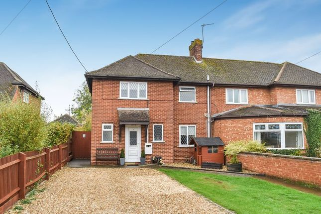 Thumbnail Semi-detached house for sale in Station Road, Marsh Gibbon, Bicester