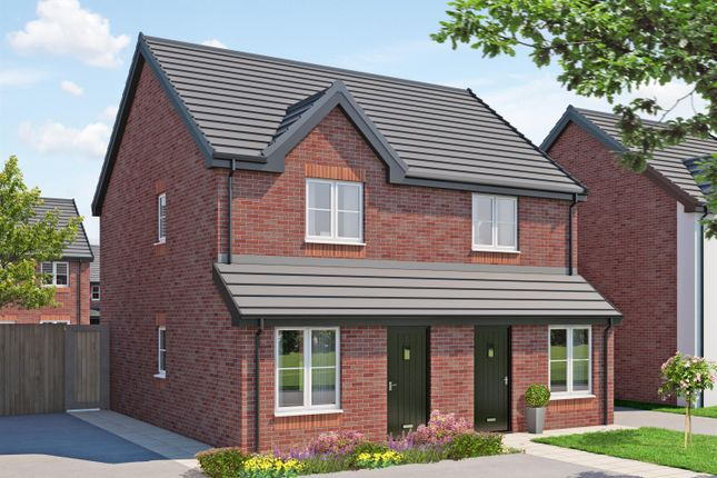 Thumbnail Semi-detached house for sale in Parsonage Gardens, Leigh