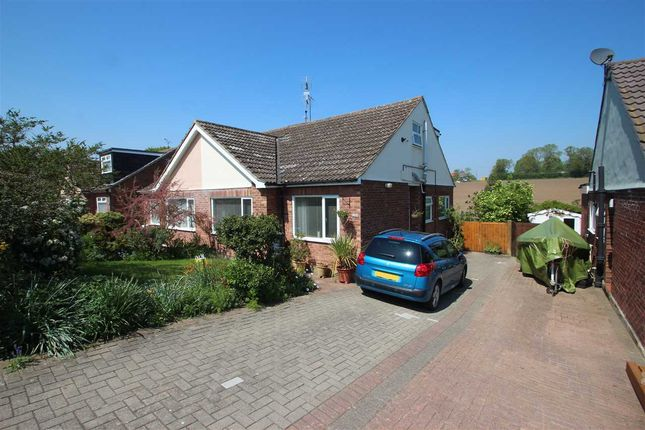 Thumbnail Bungalow for sale in Hillview Close, Rowhedge, Colchester