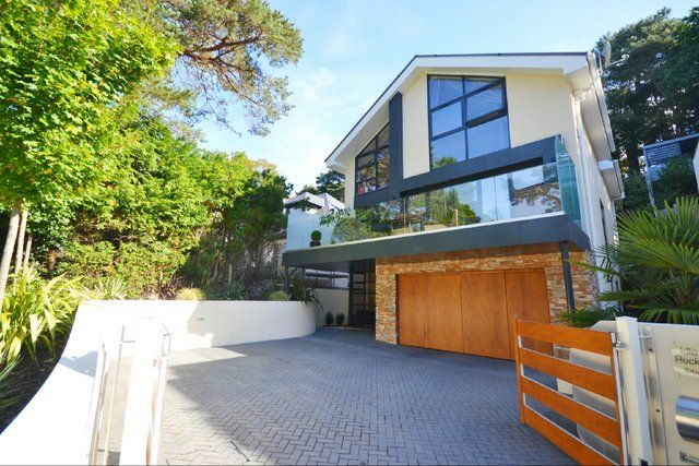 Thumbnail Detached house for sale in Lakeside Road, Branksome Park, Poole, Dorset