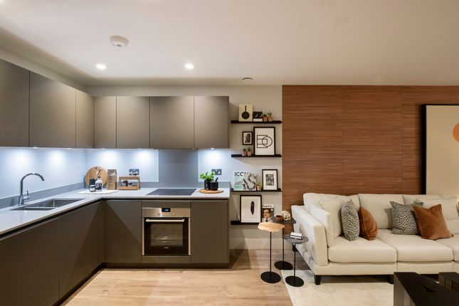 Thumbnail Flat for sale in Marshgate Lane, Stratford, London