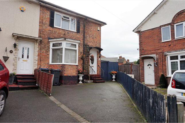 Thumbnail End terrace house for sale in Sleaford Grove, Birmingham