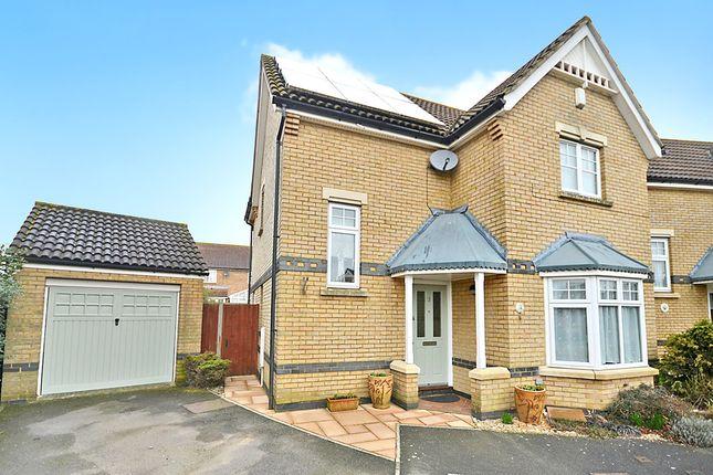 Thumbnail Detached house for sale in John Badger Close, Kennington, Ashford