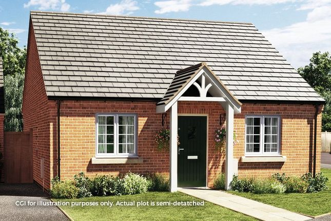 Thumbnail Semi-detached bungalow for sale in Heanor Road, Smalley, Ilkeston