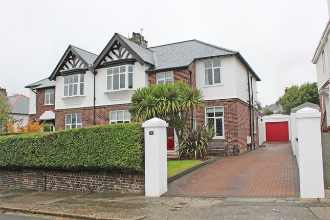 Thumbnail 4 bed semi-detached house for sale in The Elms, Stoke, Plymouth