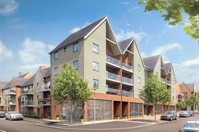 "1 bedroom flat for sale in ""The Upnor House"" at 25 Cedar Parade, Repton Avenue, Ashford"