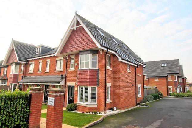 Thumbnail End terrace house for sale in Mytchett Road, Mytchett, Camberley