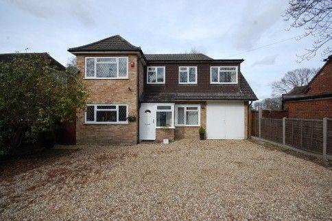 Thumbnail Detached house for sale in Prospect Avenue, Farnborough, Hampshire