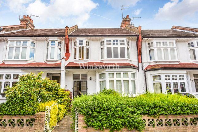 Thumbnail Flat for sale in Caversham Avenue, London