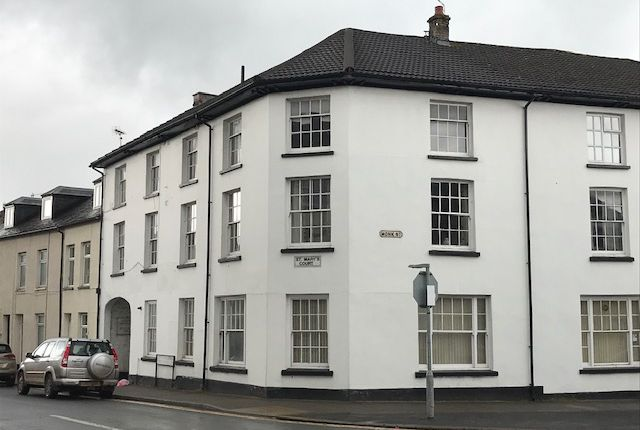 Thumbnail Flat for sale in Monk Street, Abergavenny, Monmouthshire