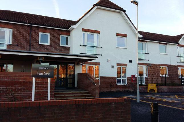 Thumbnail Flat to rent in Fern Dene, Rosehill