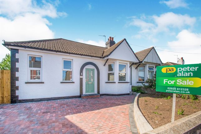 Thumbnail Semi-detached bungalow for sale in College Road, Whitchurch, Cardiff