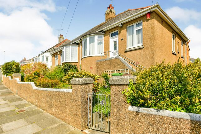 Thumbnail Semi-detached bungalow for sale in Seacroft Road, Plymouth