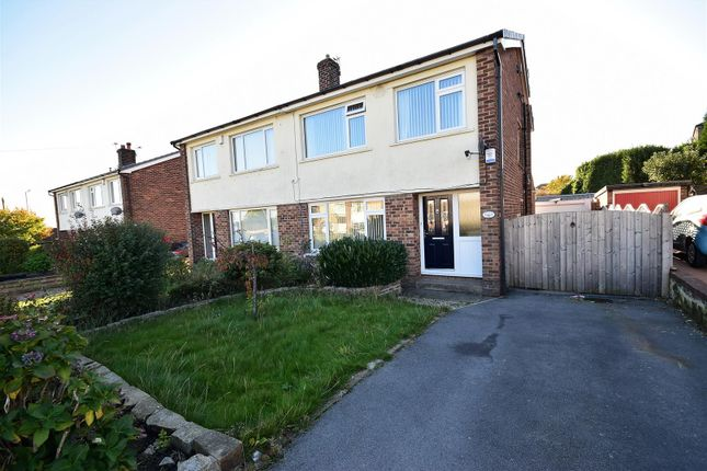 Thumbnail Semi-detached house for sale in Wesley Avenue, Low Moor, Bradford