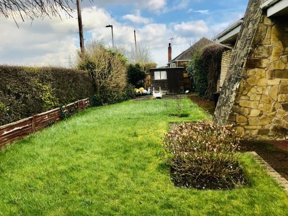Side Garden of Springdale, Hawarden, Deeside, Flintshire CH5