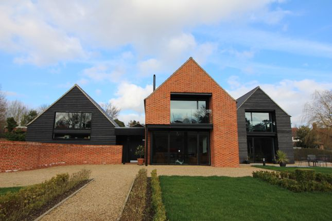Thumbnail Detached house for sale in London Road, Wymondham
