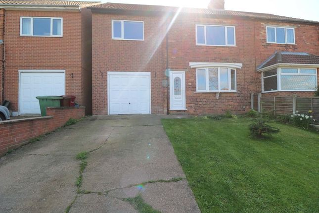 Thumbnail Semi-detached house for sale in Rectory Street, Epworth, Doncaster