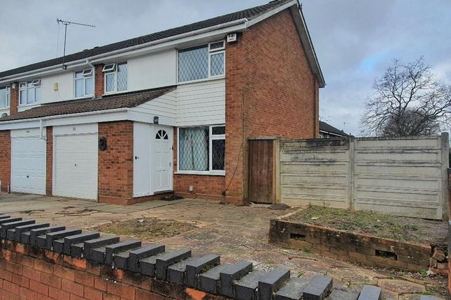 Thumbnail Semi-detached house for sale in Linwood Drive, Walsgrave, Coventry