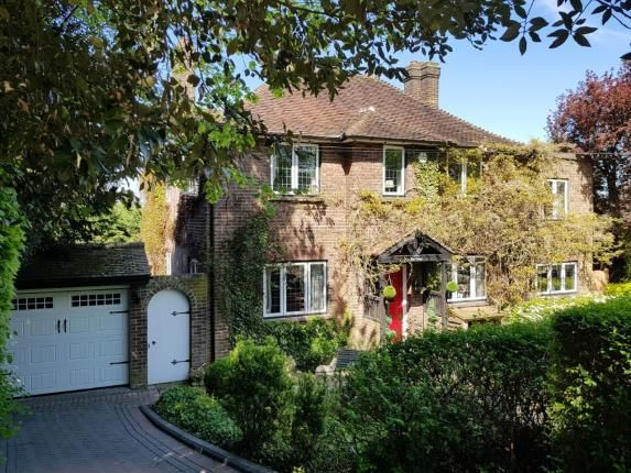 Thumbnail Detached house for sale in Purley Hill, Purley, Surrey