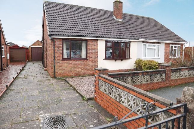 Semi-detached bungalow for sale in Ansmede Grove, Blurton, Stoke-On-Trent, Staffordshire
