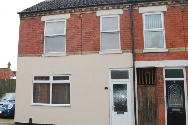 Thumbnail End terrace house for sale in Station Road, Rushden