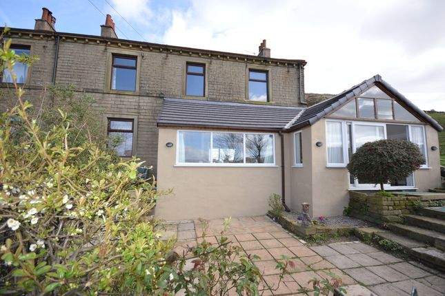 Thumbnail End terrace house for sale in Crowther Cottages, Marsden, Huddersfield