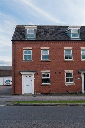 Thumbnail End terrace house for sale in Maye Dicks Road, Rushden, Northamptonshire