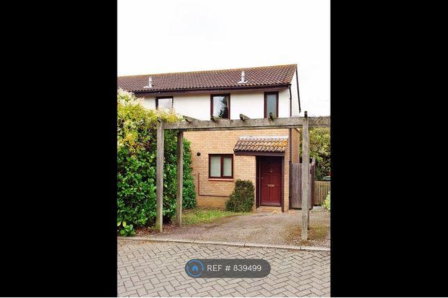 Thumbnail End terrace house to rent in Hadley Place, Milton Keynes