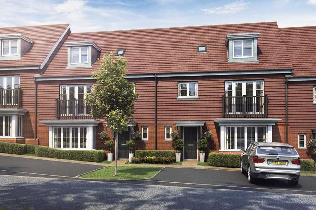 "Thumbnail Terraced house for sale in ""The Copper"" at Old Bisley Road, Frimley, Surrey, Frimley"