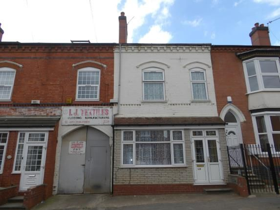 Thumbnail Terraced house for sale in Westminster Road, Handsworth, Birmingham, West Midlands