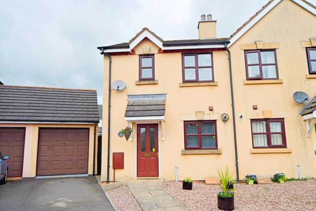 Thumbnail Semi-detached house for sale in Mallow Court, Willand