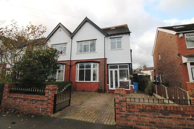 Thumbnail Semi-detached house for sale in Southgate, Urmston, Manchester
