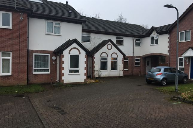 Thumbnail Terraced house to rent in Cwrt Cilmeri, Swansea Vale, Morriston