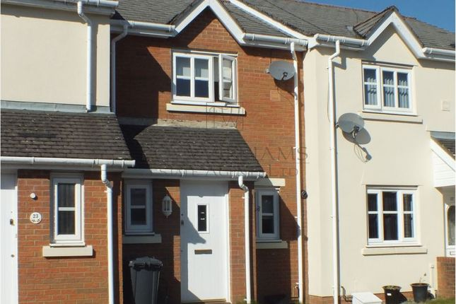 Thumbnail Terraced house for sale in Lakeside Close, Brynmawr, Ebbw Vale