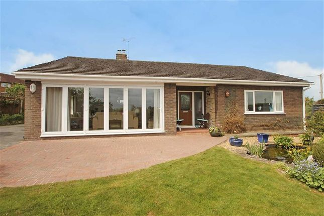 Thumbnail Detached bungalow for sale in Trefonen, Oswestry