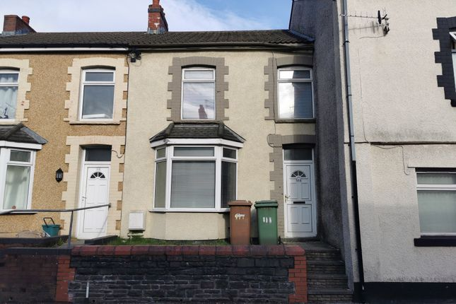 3 bed terraced house to rent in Commercial Street, Aberbargoed CF81