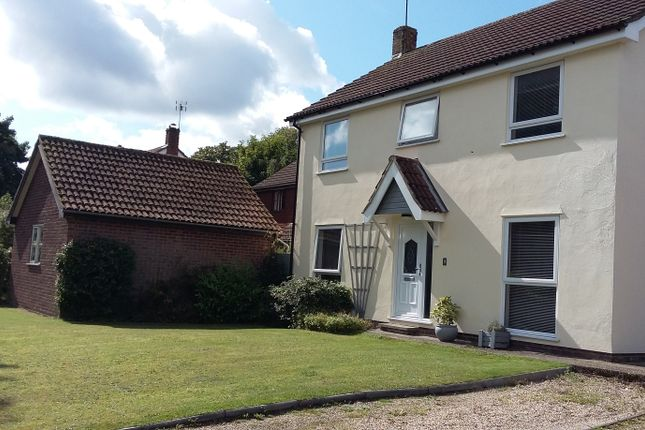 Thumbnail Detached house for sale in Meadow Close, Felsham, Bury St. Edmunds