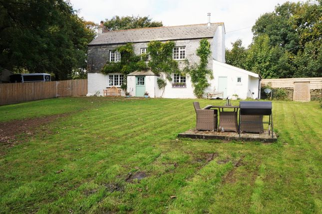 Thumbnail Detached house for sale in Widegates, Looe
