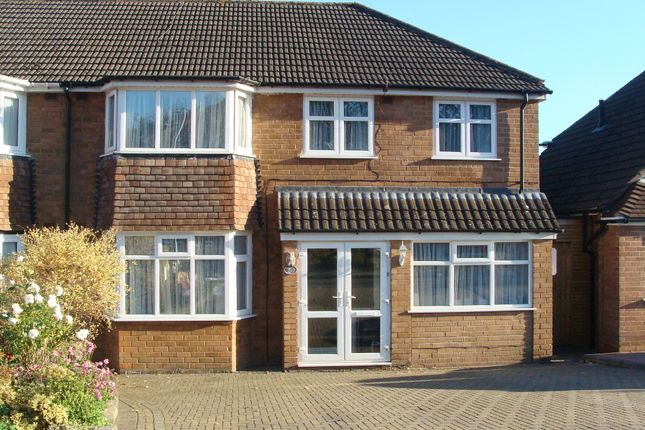 Thumbnail Semi-detached house for sale in Romsley Close, Rubery