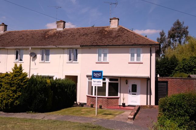 Thumbnail End terrace house for sale in Cherwell Drive, Chelmsford