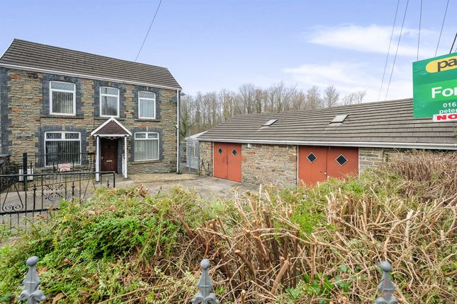 Thumbnail Detached house for sale in Merthyr Road, Pontwalby, Neath
