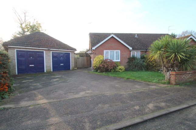 2 bed semi-detached bungalow for sale in Cornflower Close, Stanway, Colchester CO3