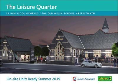 Thumbnail Retail premises to let in Unit 4, Yr Hen Ysgol Gymraeg, Alexandra Road, Aberystwyth