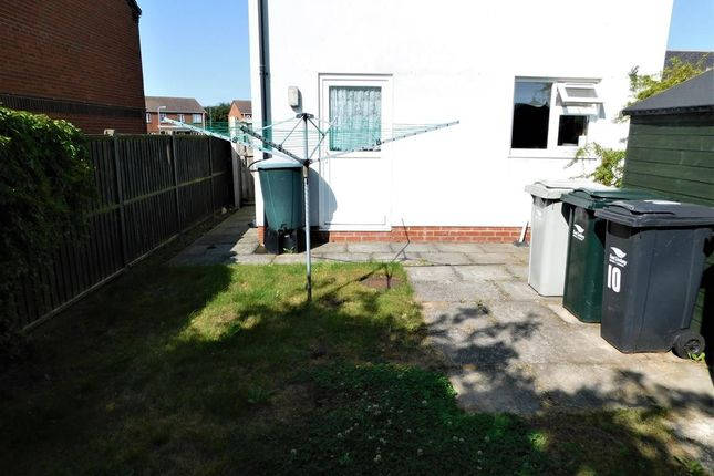 Rear Garden of Cades Field Road, Sutton-On-Sea, Mablethorpe LN12