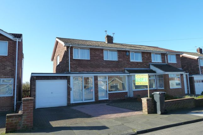 3 bed semi-detached house to rent in Hotspur Avenue, Bedlington