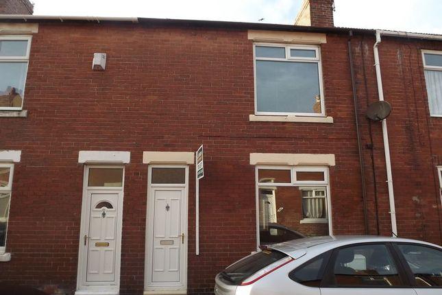 Thumbnail Terraced house to rent in Meldon Terrace, Newbiggin-By-The-Sea
