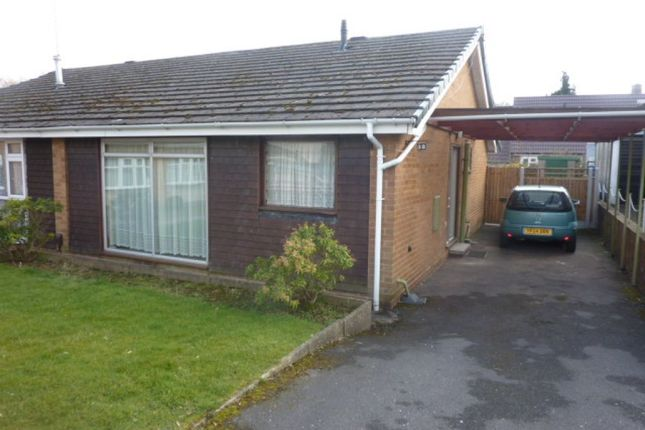 Thumbnail Semi-detached bungalow to rent in Vicarage Drive, Chaddesden