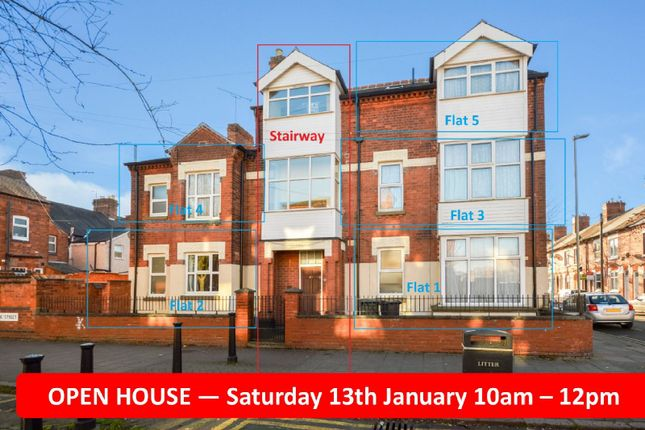 Thumbnail Flat for sale in Upper Tichborne Street, Highfields, Leicestershire